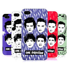OFFICIAL ONE DIRECTION 1D GROUP GRAPHIC FACES HARD BACK CASE FOR APPLE iPHONE 4S
