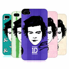 OFFICIAL ONE DIRECTION 1D GRAPHIC FACES HARRY HARD BACK CASE FOR APPLE iPHONE 4S