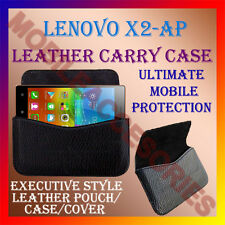 ACM-HORIZONTAL LEATHER CARRY CASE for LENOVO X2-AP MOBILE POUCH COVER HOLDER