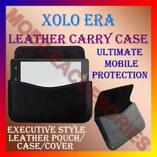 ACM-HORIZONTAL LEATHER CARRY CASE for XOLO ERA MOBILE POUCH COVER HOLDER LATEST