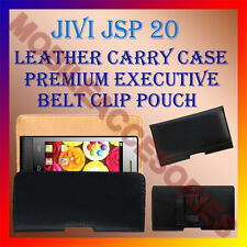 ACM-BELT CASE for JIVI JSP 20 MOBILE LEATHER POUCH COVER HOLDER PROTECT HOLSTER