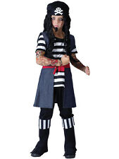 Tattoo Pirate Boys Child Fancy Dress Costume 3-10 Years Kids New Jack Sparrow