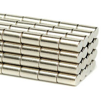5mm x 10mm Very Strong Neodymium Cylinder Disc Rod Magnet