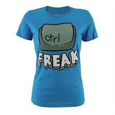 Goodie Two Sleeves Girl-Shirt CONTROL FREAK blue
