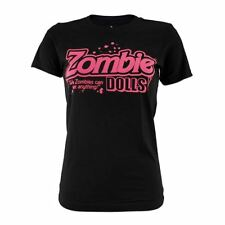 Goodie Two Sleeves Girl-Shirt BARBIE ZOMBIE black