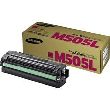 GENUINE SAMSUNG CLT-M505L/ELS MAGENTA LASER PRINTER TONER CARTRIDGE (M505L)
