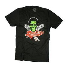 Goodie Two Sleeves Men-Shirt ZOMBIE BASEBALL black