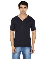 SBN Blue Coloured Cotton Half Sleeve Printed T-Shirt (hts10)