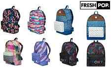 School Bag Roxy Backpacks Women/Girls Sugar Baby & Be Young Bag Prints Rucksacks