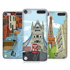 HEAD CASE DESIGNS DOODLE CITIES SERIES 2 CASE FOR APPLE iPOD TOUCH 6G 6TH GEN