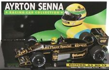 MINICHAMPS 854312 & 864312 LOTUS JPS F1 model car Ayrton Senna 1985 / 86 1:43rd
