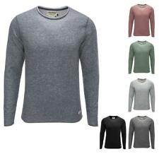 Jack & Jones Herren Sweatshirt Langarmshirt Men Sweat Crew Neck Shirt Color Mix