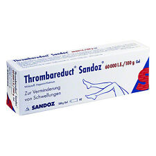 Thrombareduct Sandoz 60000 I.E./100g 100g PZN 00856787