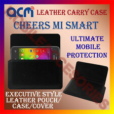 ACM-HORIZONTAL LEATHER CARRY CASE for CHEERS MI SMART MOBILE POUCH COVER HOLDER