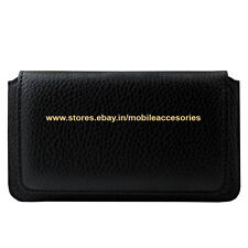 ACM-HORIZONTAL LEATHER CARRY CASE for SWIPE KONNECT 4 MOBILE COVER HOLDER LATEST