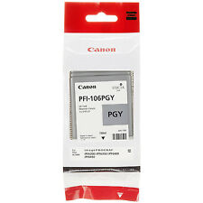 GENUINE ORIGINAL CANON PFI-106PGY PHOTO GREY INK CARTRIDGE (6631B001AA)