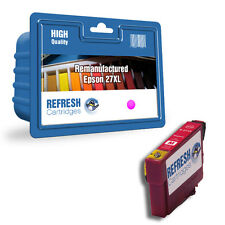 REMANUFACTURED 27XL (NON GENUINE) HIGH CAPACITY MAGENTA INK CARTRIDGE FOR EPSON