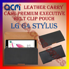 ACM-BELT CASE for LG G4 STYLUS MOBILE LEATHER POUCH COVER HOLDER HOLSTER PROTECT