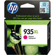 GENUINE ORIGINAL HP 935XL HIGH CAPACITY MAGENTA PRINTER INK CARTRIDGE (C2P25AE)