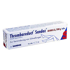 Thrombareduct Sandoz 60000 I.E./100g 40g PZN 00855581