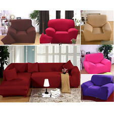 High-Quality Furniture Protector Sofa Arm Chair Settee Elastic Slip Cover Throw