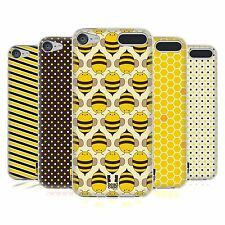 HEAD CASE BUSY BEE PATTERNS SOFT GEL CASE FOR APPLE iPOD TOUCH 6G 6TH GEN