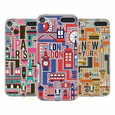 HEAD CASE COUNTRY LANDMARKS SOFT GEL CASE FOR APPLE iPOD TOUCH 6G 6TH GEN