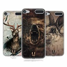 HEAD CASE POLY SKETCH SOFT GEL CASE FOR APPLE iPOD TOUCH 6G 6TH GEN