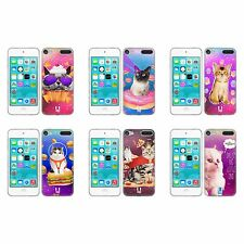 HEAD CASE REALISTIC CATS SOFT GEL CASE FOR APPLE iPOD TOUCH 6G 6TH GEN