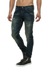 Jack & Jones Herren Slim Fit Jogg Jeans Röhrenjeans Hose Vintage Blue Denim -50%