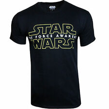 Mens Star Wars Force Awakens Print T Shirt Gift Present Novelty Graphic Movie