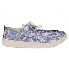 NEW TIMBERLAND EARTHKEEPERS HANDCRAFTED OX Blue Floral MENS Tropical Limited NIB