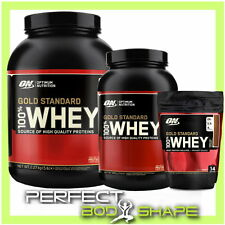 OPTIMUM NUTRITION GOLD STANDARD 100% WHEY HIGH PROTEIN ISOLATE BCAA AMINO ACIDS