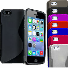 Grip Wave S-Line Morbida Silicone Gel per TPU custodia Cover per IPHONE APPLE 5