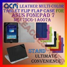 ACM-LEATHER FLIP MULTI-COLOR COVER CASE STAND for ASUS FONEPAD 7 ME175CG-1A007A