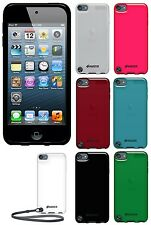 Amzer Soft Gel TPU Gloss Skin Case Fit Back Cover For iPod Touch 5th 6th Gen