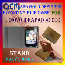 ACM-DESIGNER ROTATING 360° FLIP STAND COVER CASE for LENOVO IDEAPAD A3000 TABLET