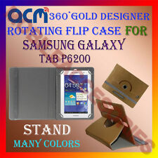 ACM-DESIGNER ROTATING 360° FLIP STAND COVER CASE for SAMSUNG GALAXY TAB  P6200