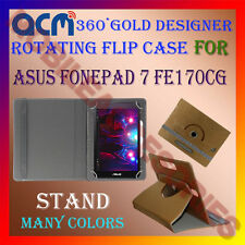 ACM-DESIGNER ROTATING 360° FLIP STAND COVER CASE for ASUS FONEPAD 7 FE170CG TAB