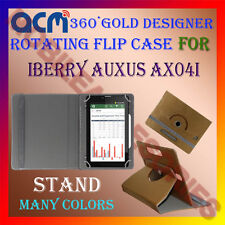 ACM-DESIGNER ROTATING 360° FLIP STAND COVER CASE for IBERRY AUXUS AX04I TABLET