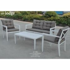 Conjunto muebles jardin SET LODGE
