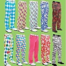 Royal & Awesome Funky Golf Trousers All Colours Many sizes new