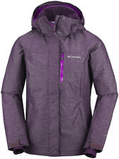 Columbia Ladies Alpine Action Waterproof Nylon Omni Heat Coat Pink