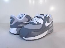 NIKE AIR MAX 90 LTR (TD) Wolf Grey/White-Cool Grey-724823 003- TODDLERS