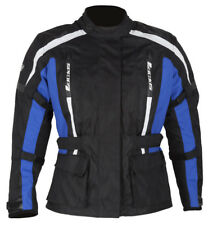 SPADA CORE MOTORCYCLE JACKET BLACK/BLUE LADIES ALL SIZES