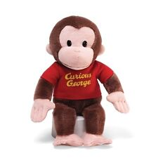 Gund Curious George Stuffed Animal 12-inch Plush Toy for Kids Ages above 1+ New
