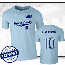 Diego Maradona Fan T-Shirt, Maradona 10 Argentina Fan tshirt, Hand of God