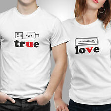 Couple Tshirts- Love Charger (by iberrys)