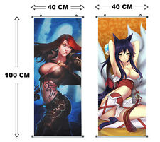 League of Legends Rollbild Kakemono Wandbild Wallscroll Poster Katarina Ahri