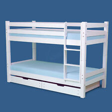 TONY Bunk bed Kid's bed bunk bed Loft bed Etagebed Pine White New